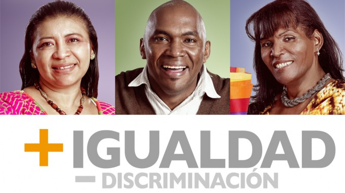 No a la discriminación racial